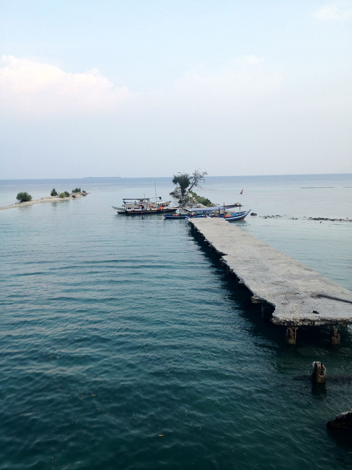 thousand islands jakarta how to get there