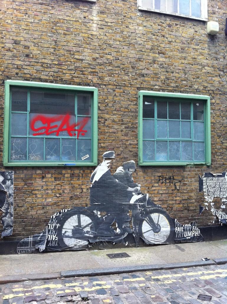 Street Art. Shoreditch. East London.