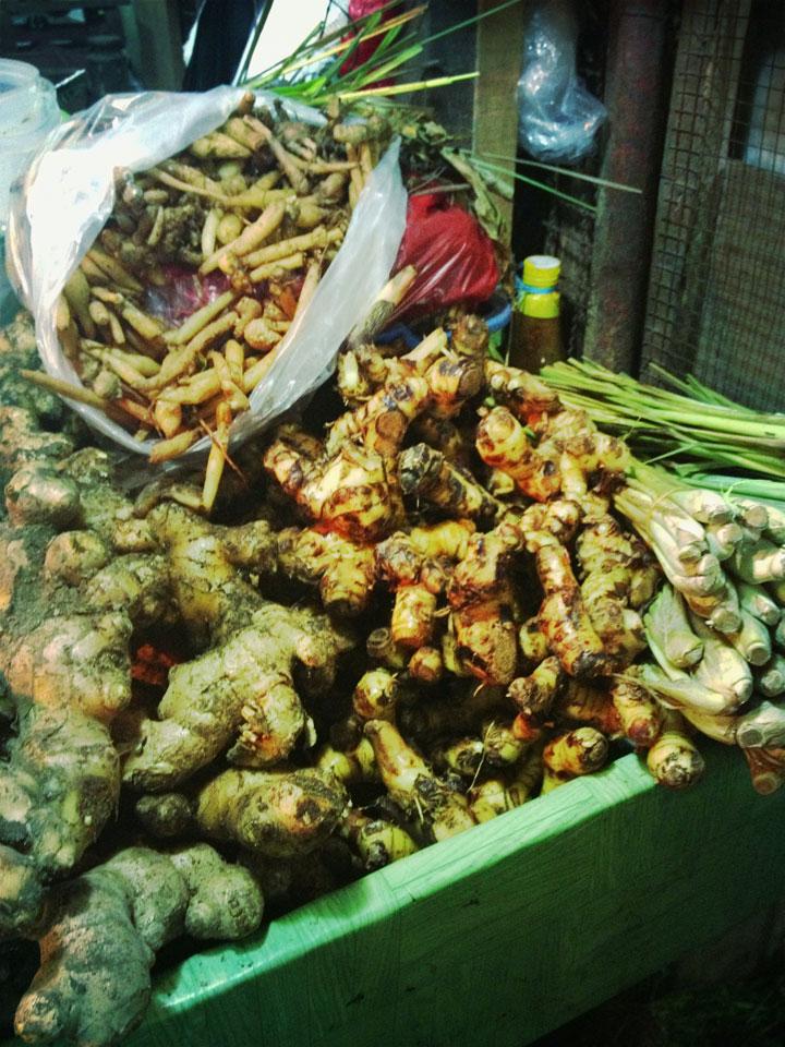 Galangal in Jakarta, Pasar Tebet