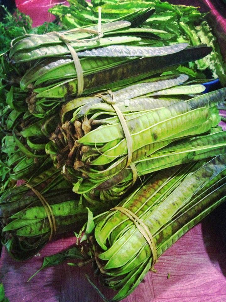 Gorgeous green bundles in Pasar Tebet