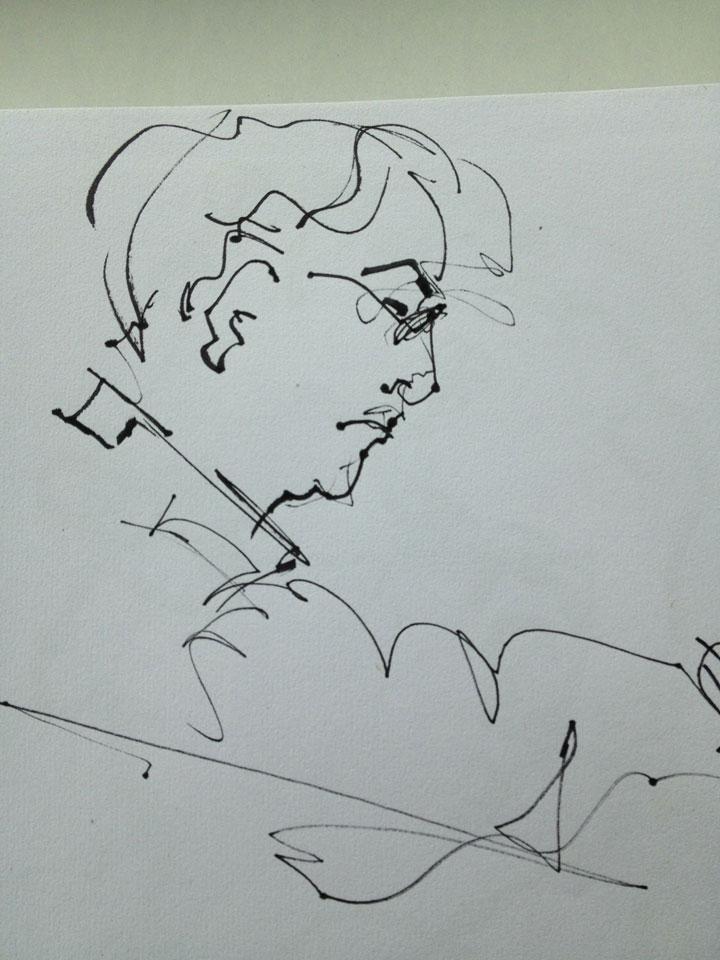 Pete-Nevin.-Lottie-Nevin-drawing