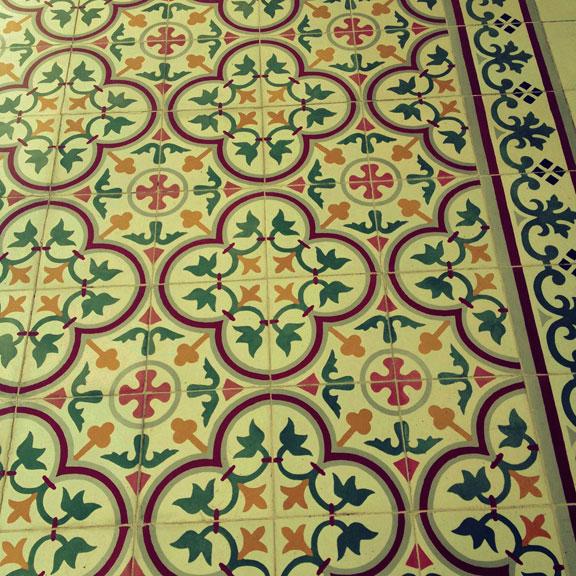 Yogyakarta Kraton Italian Floor Tiles Lottie Nevin The Rioja