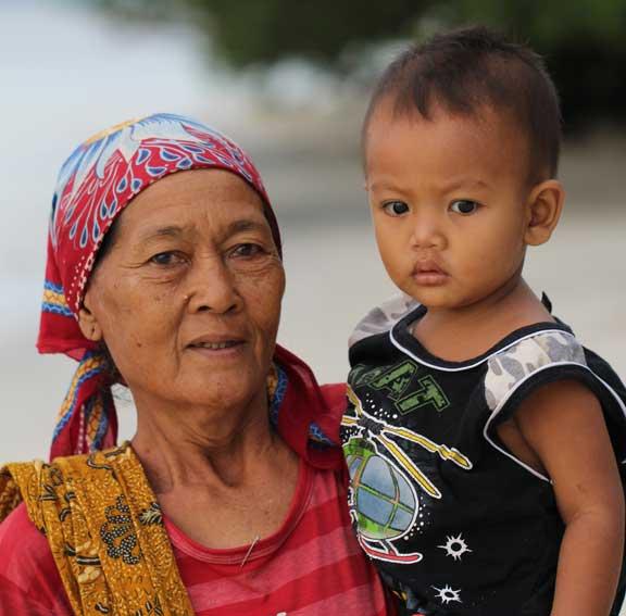 mother-and-baby-gili-trawangan