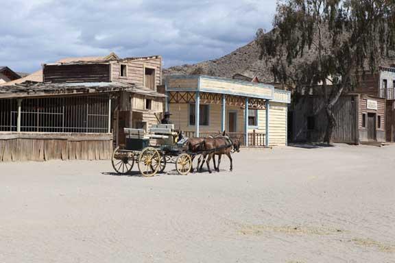 mule-cart-in-square